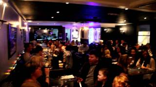 Undaal Indian Restaurant Brentwood - live singing by Wills Childs (Billy)3