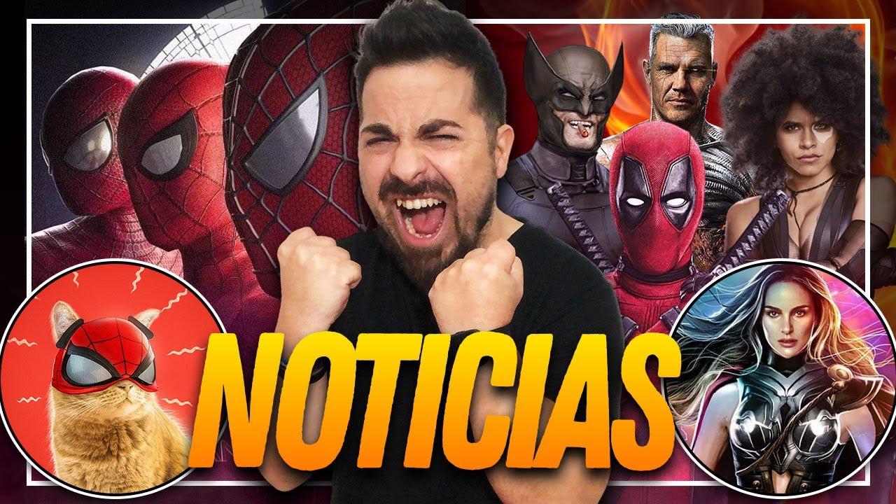 💥Boom💥 El Spider-Verse SE DESCONTROLA, Deadpool 3 y 4, La Poderosa THOR será TONTA y mucho más.