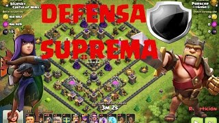 DEFENSA SUPREMA DE LA SEMANA #1 l TH9 VS TH 11 l COMO DEFIENDE UN TH9 EN TITAN
