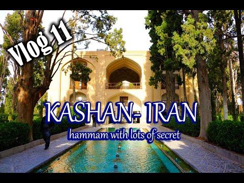 Kashan, Fin Garden, Iran tour -  Day 4   (Vlog 11)
