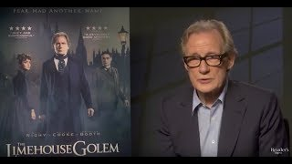 The Limehouse Golem – Bill Nighy Interview