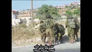 بالفيديو.. جنود إسرائيليون يعتدون بالضرب المبرح على فلسطيني