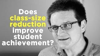 One Question: Does class-size reduction improve student achievement? thumbnail