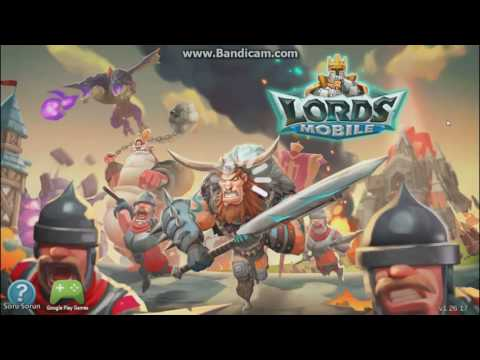 Lord Mobile Oyununu Bilgisayardan Oynamak - İOS/ANDROİD