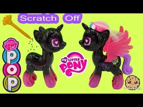 My Little Pony Pop Princess Cadance Design-A-Pony Kit Scratch Off Custom Designs - Cookieswirlc