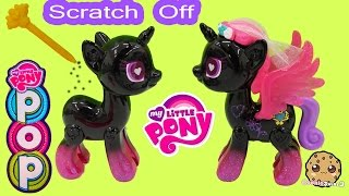 My Little Pony Pop Princess Cadance Design-A-Pony Kit Scratch Off Custom Designs - Cookieswirlc