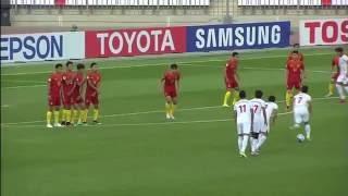 Tajikistan vs China AFC U 19 Championship  Group Stage