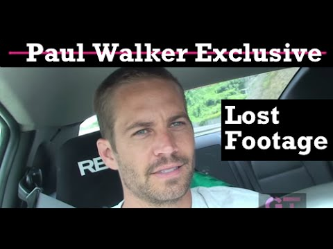 Paul Walker - Lost Footage