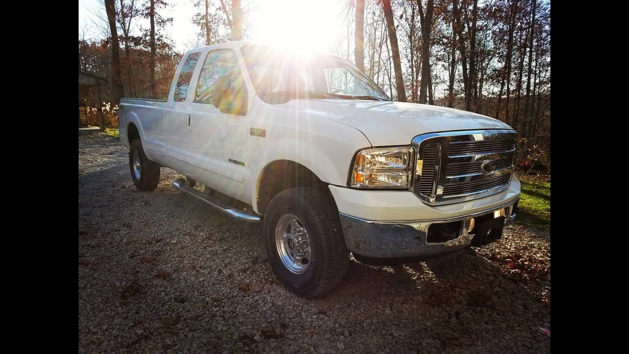 1999  2004 to 2005  2007 F250 Super Duty Front End Swap Conversion  YouTube