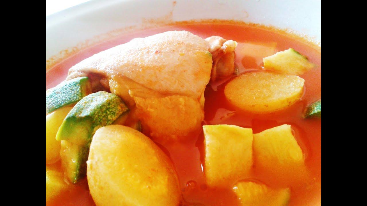 Cocinar guisado de pollo con vegetales f cil y sencillo for Cocinar en 5 min