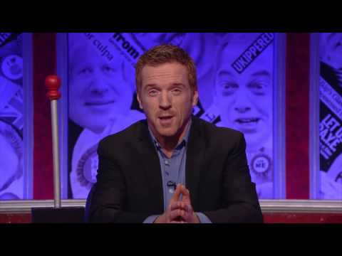 Damian Lewis hosting 'Have I Got A Bit More News For You' (03 Nov 2014)