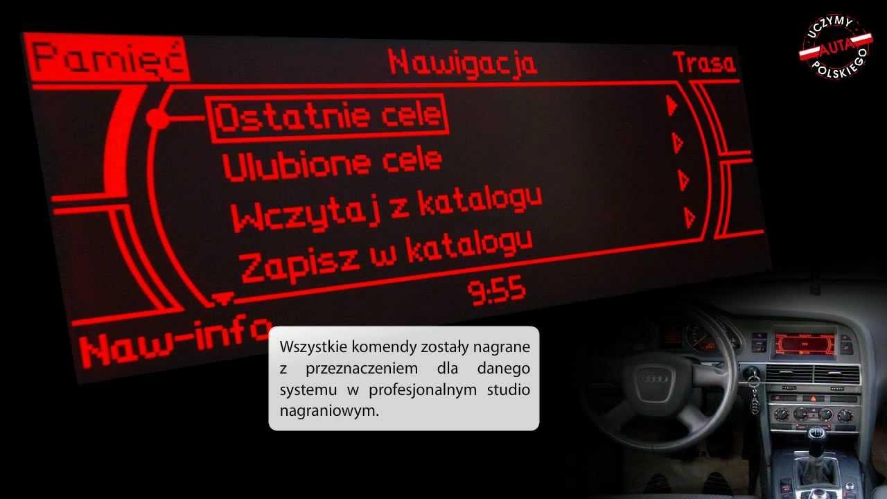 Audi Mmi Low Basic Polskie Menu Polski Lektor Youtube