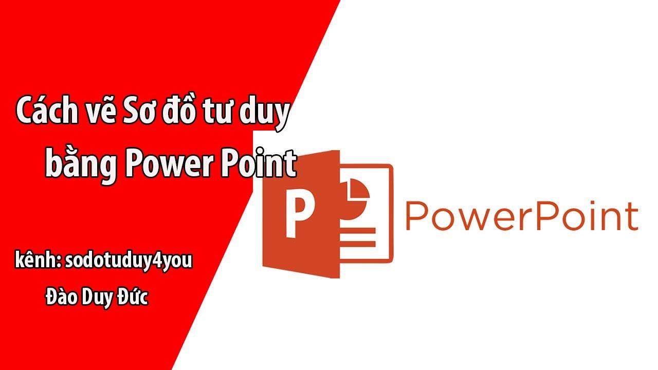 cách vẽ sơ đồ tư duy bằng powerpoint
