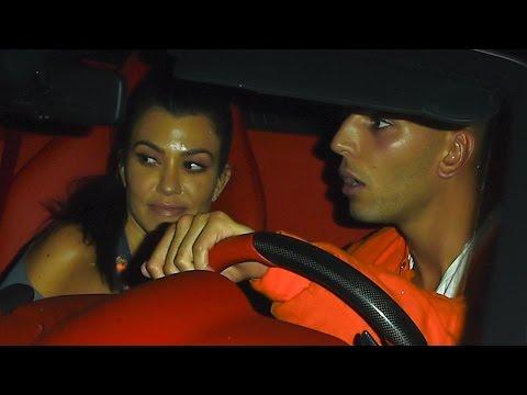 Kourtney Kardashian Packs on PDA With Younes Bendjima in Cannes as Scott Disick Bella Thorne Fly …