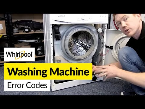Whirlpool Washing Machine Error Codes Diagnosis