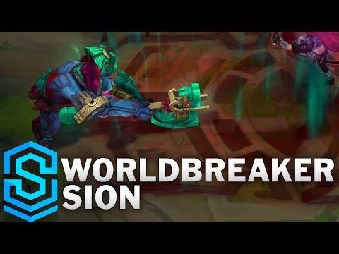 Worldbreaker Sion Skin Spotlight - Pre-Release - League of Legends