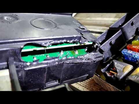 не заводился Citroen C4. 1.6 Hdi.  проблемы и починка BSI