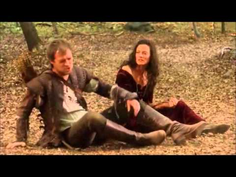 Robin Hood BBC fight   Isabella Lara Pulver, Robin Hood, Guy of Gisborne