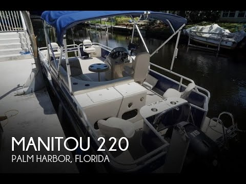Used 2013 Manitou 22 Oasis VP for sale in Palm Harbor, Florida