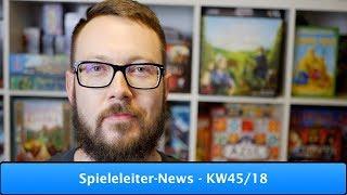 Spieleleiter-News - KW45/18
