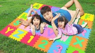 ABC 알파벳 인기동요 모음집 퍼즐매트로 알파벳송 숫자 영어배우기  ABC Song Nursery Rhymes for kids! 마슈토이 Mashu ToysReview