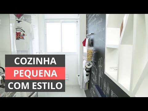 Cozinha pequena: Aprenda a decorar com estilo