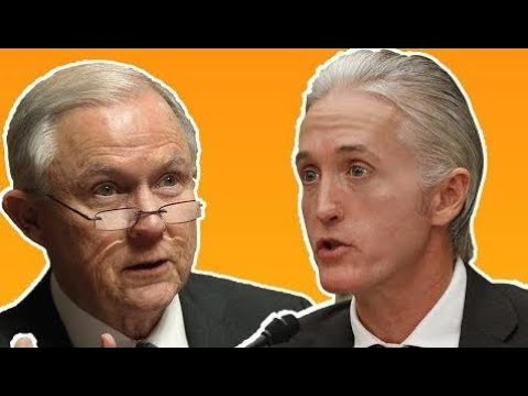 "America ex news - ""How do you restore human beings's Trust?"" Trey Gowdy FIREWORKS At Jeff Sessions"