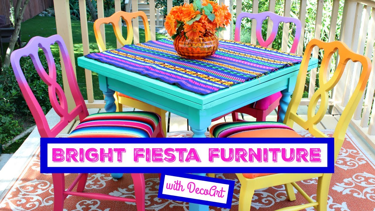 Exceptionnel HOW TO: Bright Fiesta Furniture