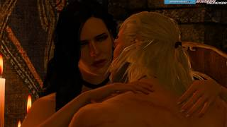 Witcher 3 - wild hunt - sex with yennefer