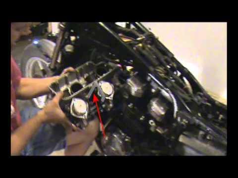 Honda Magna Carbs Install (Part 1) - YouTube