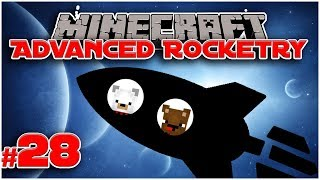 WARP CORE AND WARP CONTROLLER! - #28 Let's Play Advanced Rocketry [Minecraft 1.12.2]