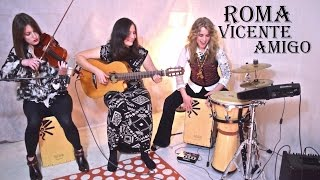 Vicente Amigo - Roma (cover with FREE TAB) feat Heidi Joubert