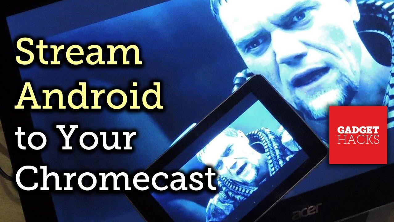 how to watch movies via chromecast