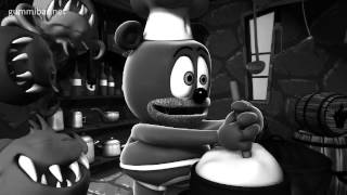 BLACK AND WHITE Monster Movie Gummibär Monster Mash Song