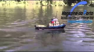 Barco Rebocador Controle Remoto Southampton www.magazinedoporto.com.br