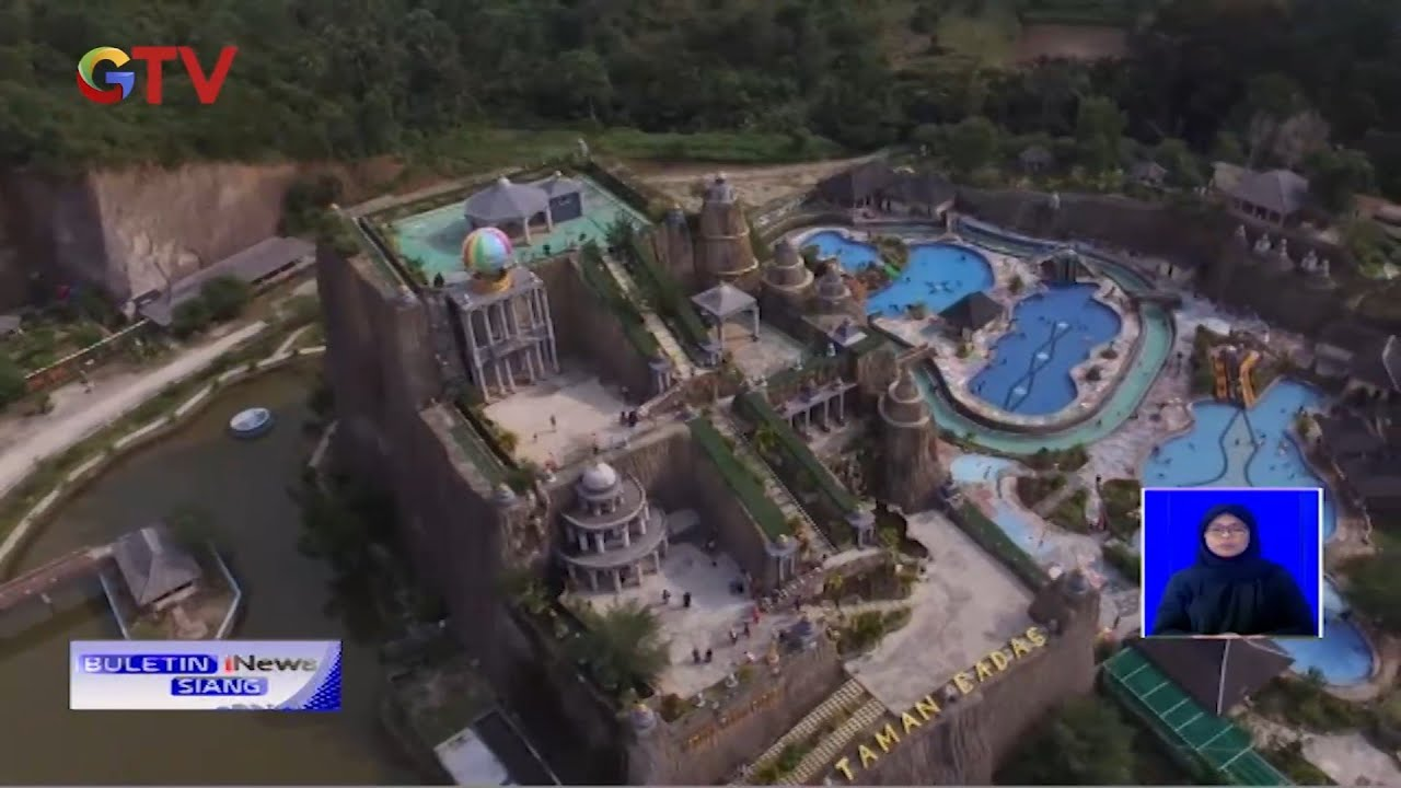 Kemegahan Istana Ala Hollywood di Batu Cilegon, Banten - BIS 21/06