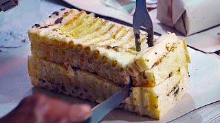 Indonesian Street Food - GRILLED BREAD | Roti Bakar Bandung