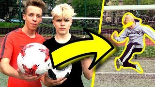 FOOTBALL CHALLENGE na ŚLEPO! PNTCMZ Football & czuuX