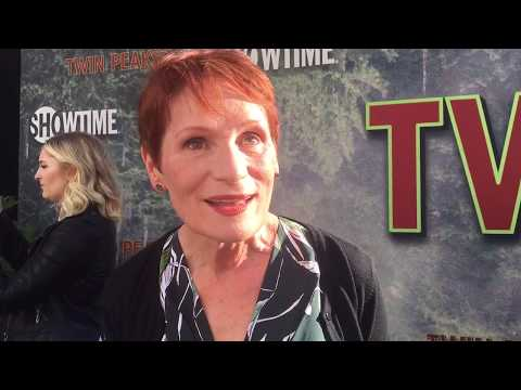 Wendy Robie chats top secret 'Twin Peaks' limited series on premiere red carpet
