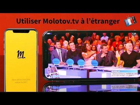 Molotov.tv  Regarder la télé à l'étranger Fr 4k