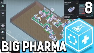 Big Pharma #8 Die war nicht so schwer Der Pillen Fabrik Simulator BETA Gameplay