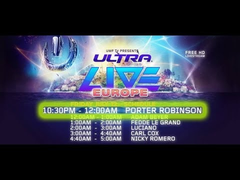 Porter Robinson   Live at Ultra Music Festival Europe Croatia 12/07/2013