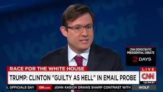 dnc press secretary refuses to answer questions about clinton s emails