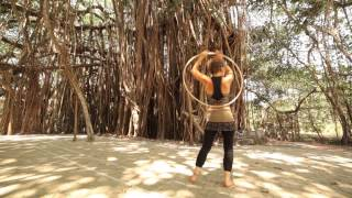 Reni Hardmeier  Hula Hoop Goa 2014