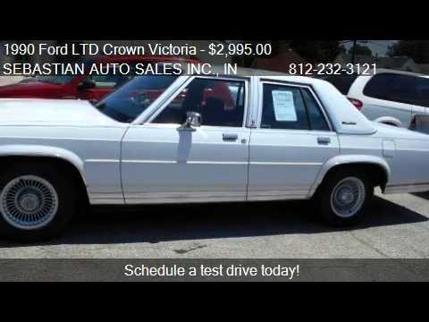1990 ford ltd crown victoria lx 4dr sedan for sale in. Black Bedroom Furniture Sets. Home Design Ideas