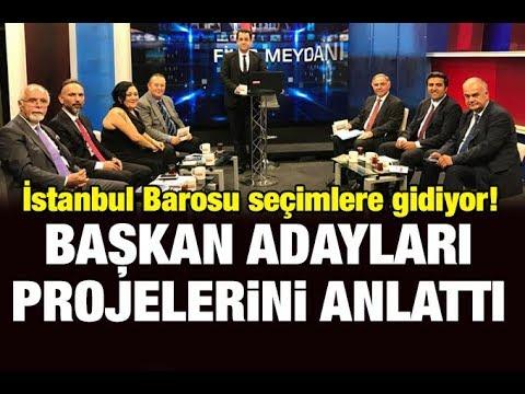Fikir Meydanı- 9 Ekim 2018- Ulusal Kanal (İstanbul Barosu Başkan Adayları)