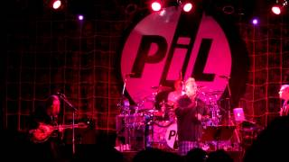 P.I.L. - One Drop, live @ The Opera House, Toronto. Oct 18, 12