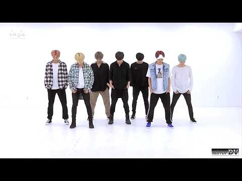 BTS 방탄소년단 - DNA (mirrored dance practice)