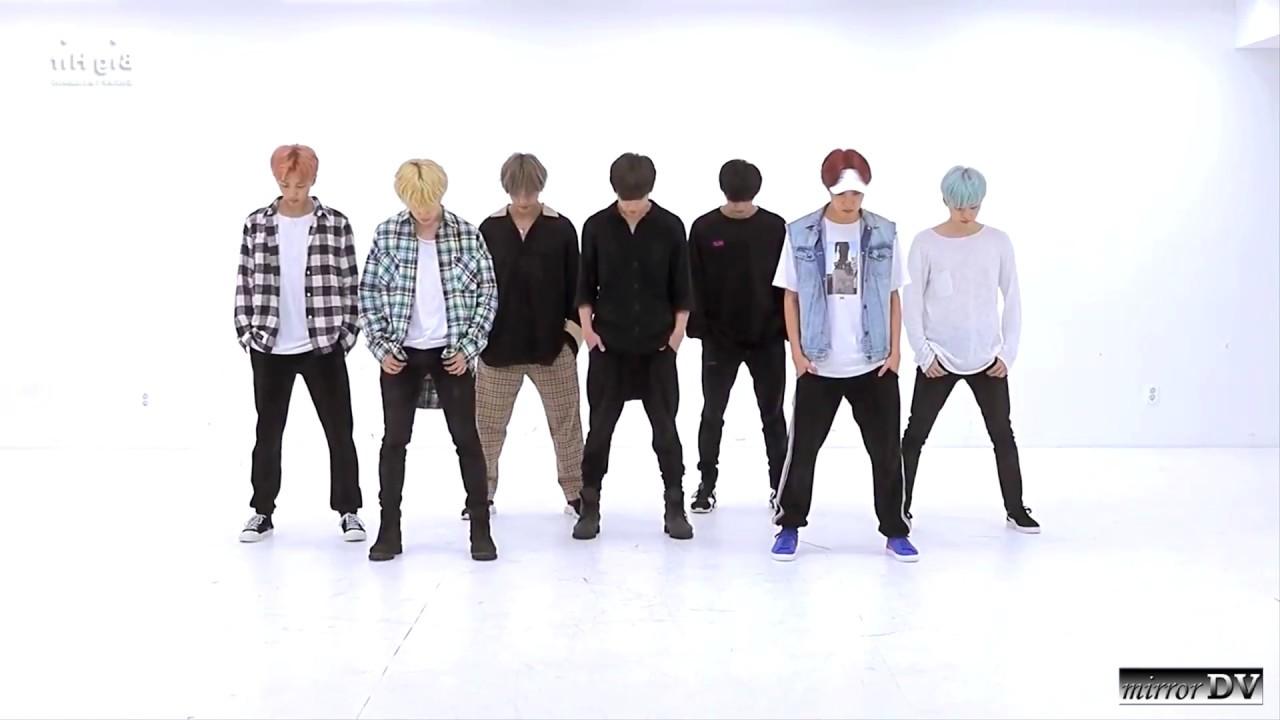 Download BTS 방탄소년단 - DNA (mirrored dance practice)