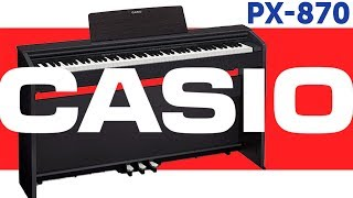 Цифровое фортепиано Casio Privia PX-870. Обзор.